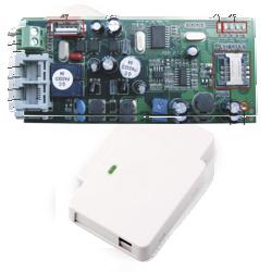 Módulos GSM, WiFi e WC