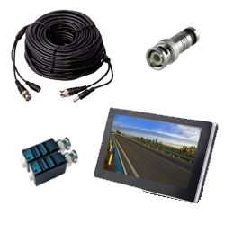 Acessórios para Videovigilância